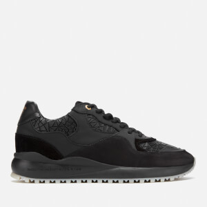 Android Homme Men's Santa Monica Trainers - Black Rubber Mosaic Mesh