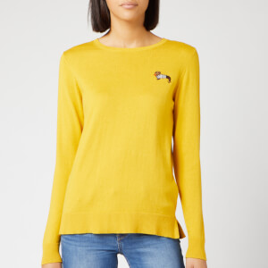 Joules Women's Tina Crew Neck Jumper - Gold