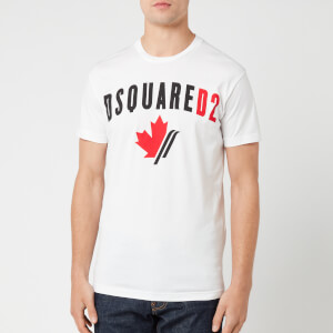 Dsquared2 Men's Maple Leaf T-Shirt - White