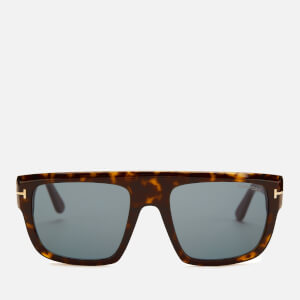 Tom Ford Men's Alessio Sunglasses - Dark Havana/Blue