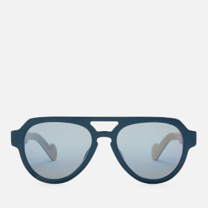 Moncler Men's Acetate Sunglasses - Blue