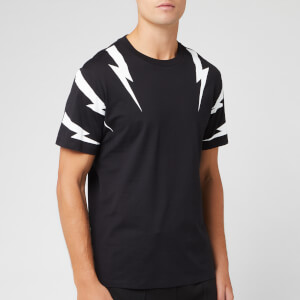Neil Barrett Men's Tiger Bolt T-Shirt - Black/White