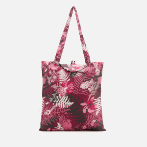 Radley Women's Botanical Floral Foldaway Tote Bag - Merlot