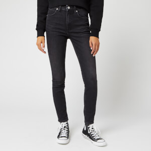 Calvin Klein Jeans Women's High Rise Skinny Jeans - Iron Horse Black