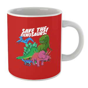 Save The Dinosaurs Mug