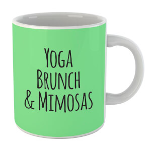 Yoga Brunch And Mimosas Mug