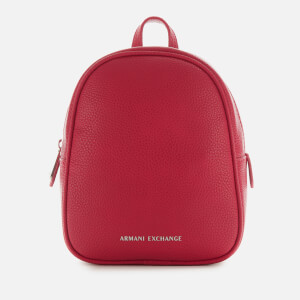 Armani Exchange Women's Mini Backpack - Royal Red