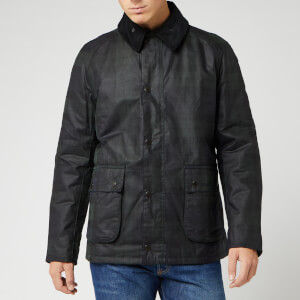 Barbour Heritage Men's Naburn Wax Jacket - Black Watch