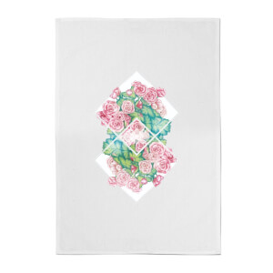 Flowers Cotton Tea Towel