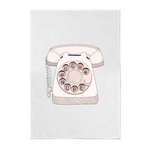 Phone Call Cotton Tea Towel