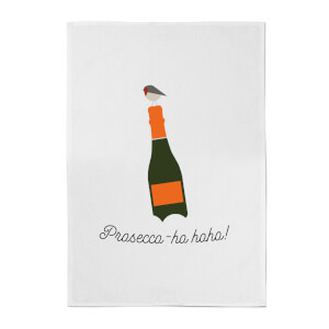 Prosecco-ho-ho Cotton Tea Towel