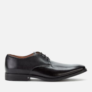 Clarks Men's Gilman Walk Leather Derby Shoes - Black