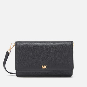 MICHAEL MICHAEL KORS Women's Crossbodies Phone Cross Body Bag - Black