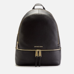 MICHAEL MICHAEL KORS Women's Rhea Zip Large Backpack - Black