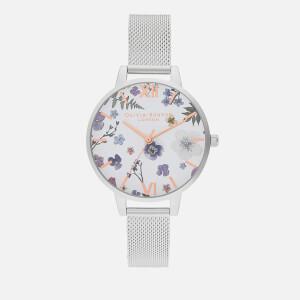 Olivia Burton Women's Artisan (Series 2) Mesh Watch - Rose Gold & Silver