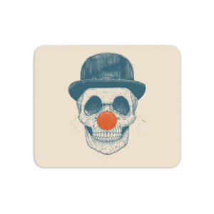 Red Nosed Skull Mouse Mat