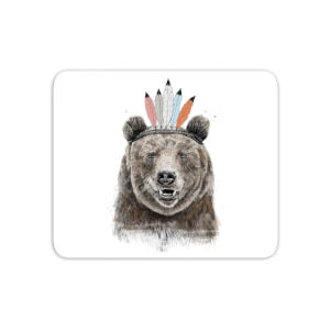 Native Bear Mouse Mat