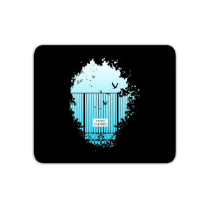 Heavens Closed Mouse Mat
