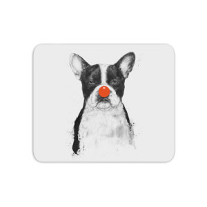 Red Nosed Bulldog Mouse Mat