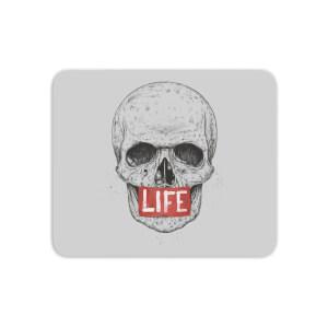 Life Skull Mouse Mat