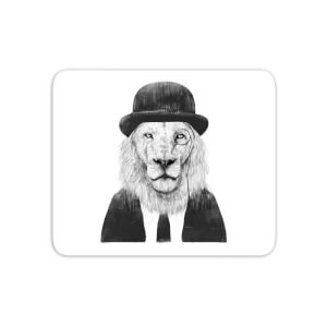 Monocle Lion Mouse Mat