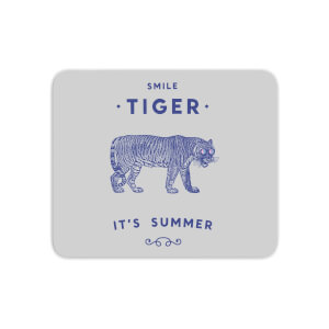 Smile Tiger Mouse Mat