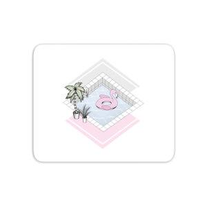 Flamingos Paradise Mouse Mat