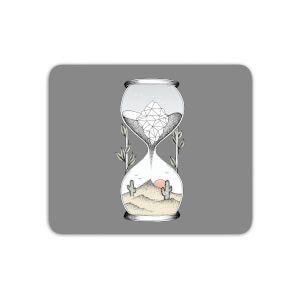 Time Is Running Out Mouse Mat