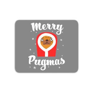Merry Pugmas Mouse Mat