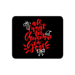 All I Want For Christmas Mouse Mat