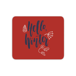 Hello Winter Mouse Mat