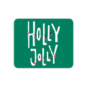 Holly Jolly Mouse Mat