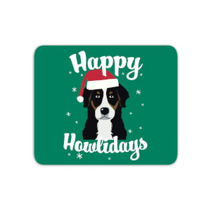 Happy Howlidays Mouse Mat