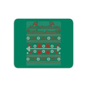 Merry Christmas Ya' Fitness Animal Mouse Mat