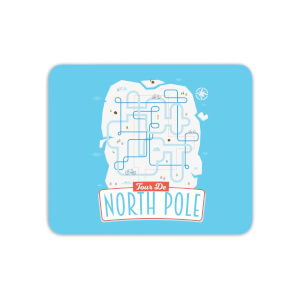 Tour De North Pole Mouse Mat