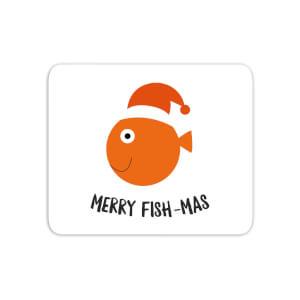 Merry Fish-Mas Mouse Mat