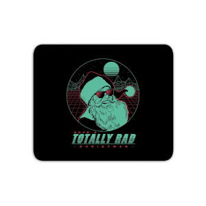 Totally Rad Christmas Mouse Mat