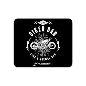 Biker Dad Mouse Mat