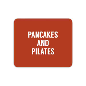 Pancakes And Pilates Mouse Mat