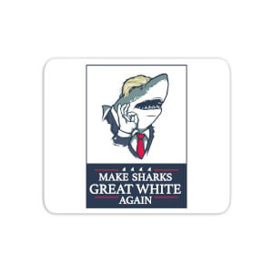 Make Sharks Great White Again Mouse Mat