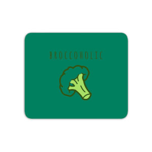 Broccoholic Mouse Mat