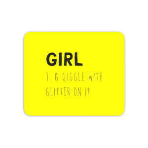 Girl Definition Mouse Mat