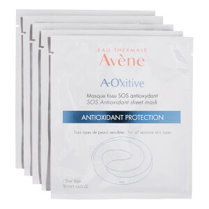 Avène A-Oxitive SOS Antioxidant Sheet Mask 5 x 4.8 fl. oz (Worth $60)