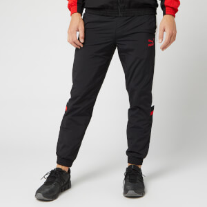 Puma Men's XTG Woven Pants - Puma Black/Red Combo