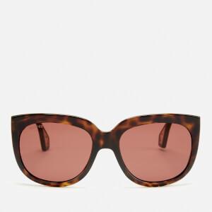 0e7d531e0ad7 Gucci Women's Injection Visor Sunglasses - Havana/Brown