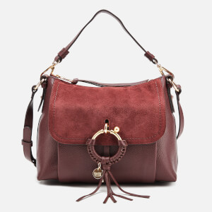 See By Chloé Women's Joan Hobo Bag - Burgundy