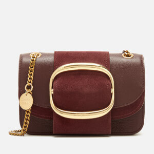 See By Chloé Women's Hopper Cross Body Bag - Burgundy
