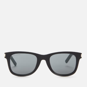 Saint Laurent Men's Classic Acetate Sunglasses - Black/Grey