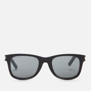 Saint Laurent Men's Classic Acetate Sunglasses - Black/Grey