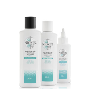 NIOXIN Scalp Recovery 3-Step Anti-Dandruff System for Itchy, Flaky Scalp